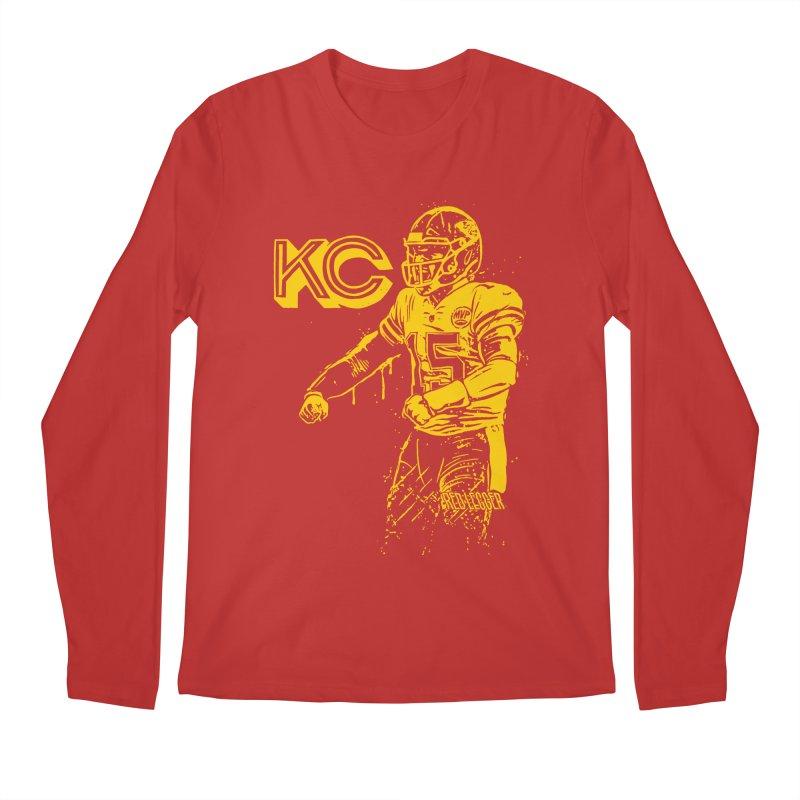 MVP (Yellow) in Men's Regular Longsleeve T-Shirt Red by redleggerstudio's Shop