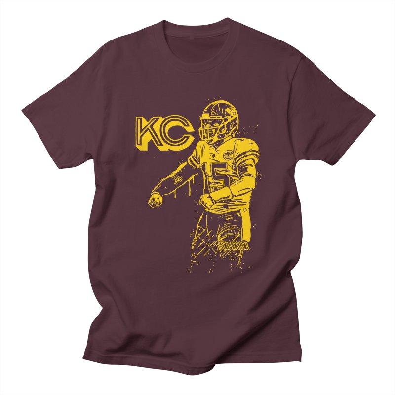 MVP (Yellow) Women's Regular Unisex T-Shirt by redleggerstudio's Shop