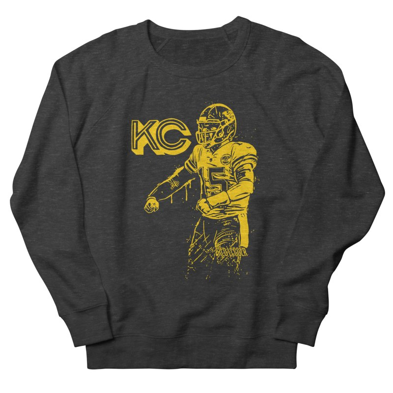 MVP (Yellow) Women's French Terry Sweatshirt by redleggerstudio's Shop