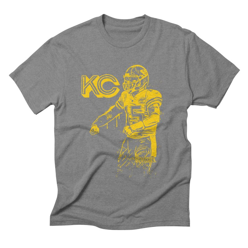 MVP (Yellow) Men's Triblend T-Shirt by redleggerstudio's Shop