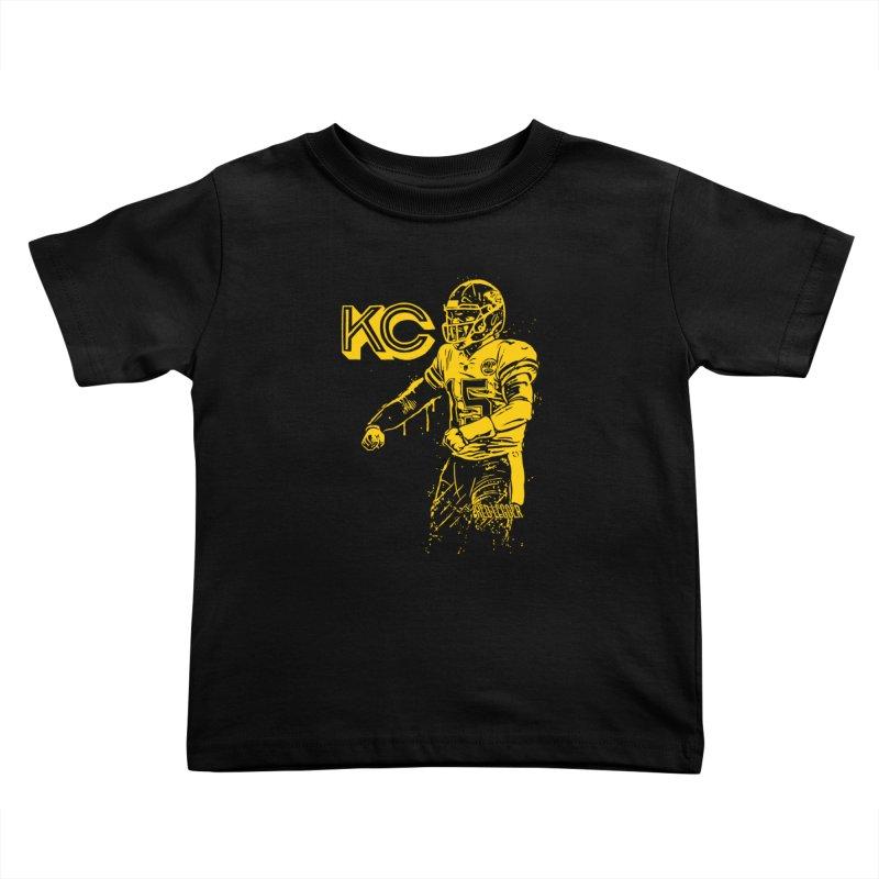 MVP (Yellow) Kids Toddler T-Shirt by redleggerstudio's Shop