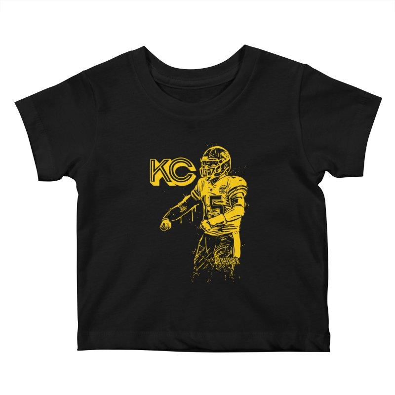 MVP (Yellow) Kids Baby T-Shirt by redleggerstudio's Shop