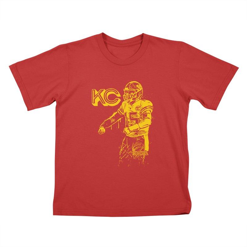 MVP (Yellow) Kids T-Shirt by redleggerstudio's Shop