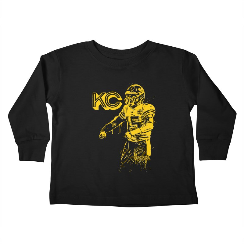 MVP (Yellow) Kids Toddler Longsleeve T-Shirt by redleggerstudio's Shop