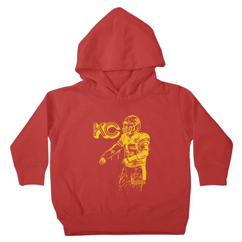 MVP (Yellow) Kids Toddler Pullover Hoody by redleggerstudio's Shop