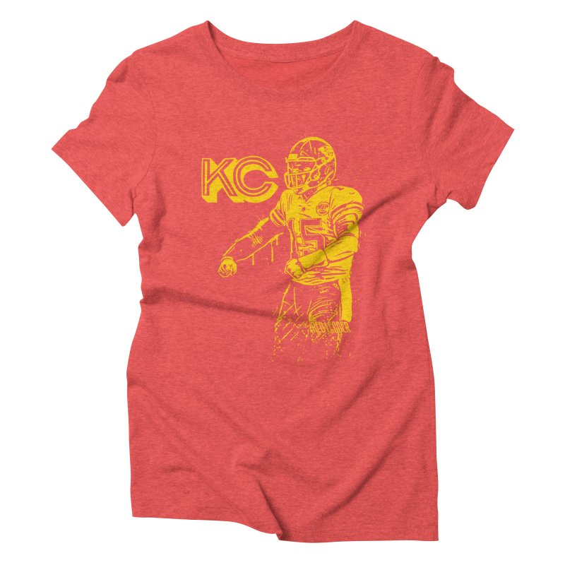 MVP (Yellow) Women's Triblend T-Shirt by redleggerstudio's Shop