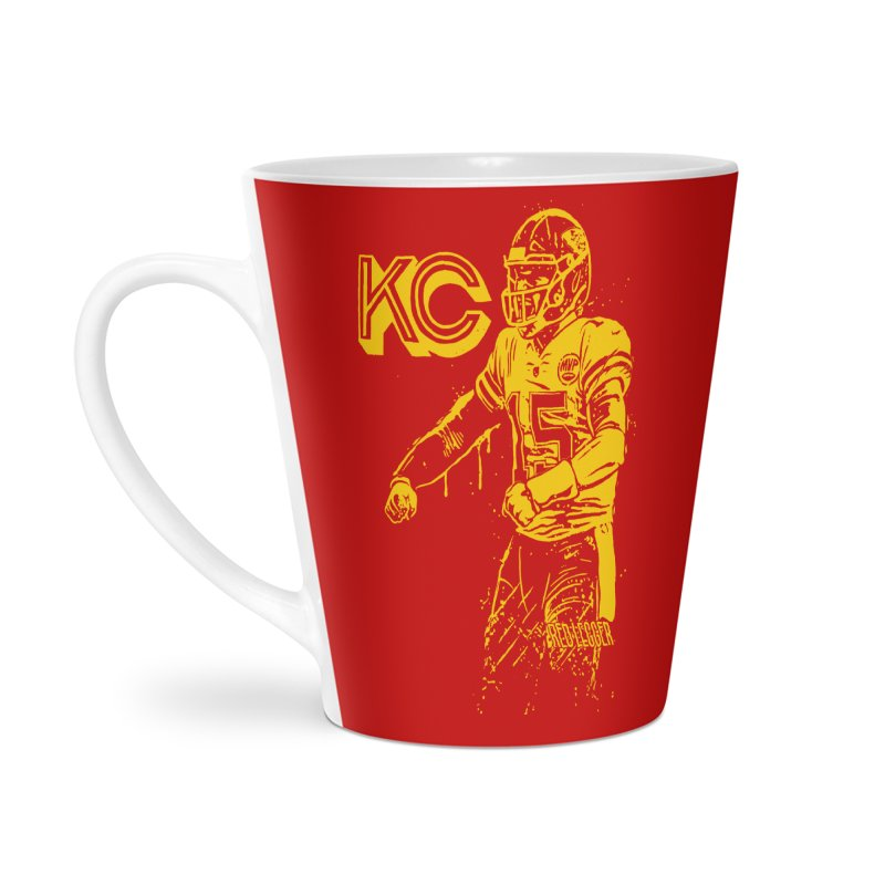 MVP (Yellow) Accessories Latte Mug by redleggerstudio's Shop
