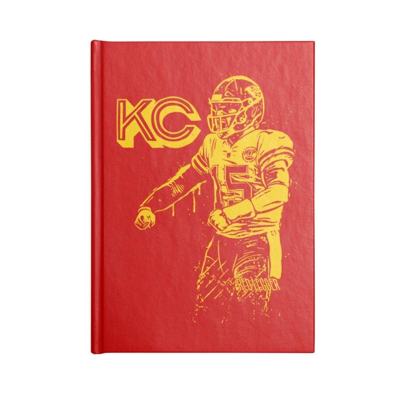 MVP (Yellow) Accessories Lined Journal Notebook by redleggerstudio's Shop