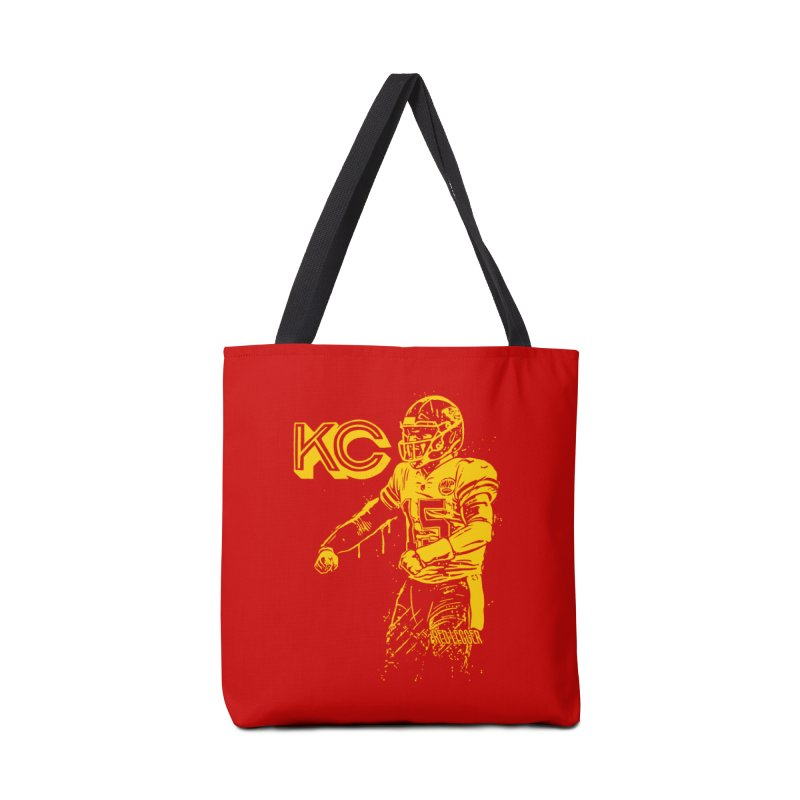 MVP (Yellow) Accessories Tote Bag Bag by redleggerstudio's Shop