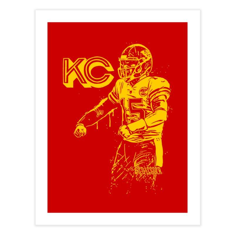 MVP (Yellow) Home Fine Art Print by redleggerstudio's Shop