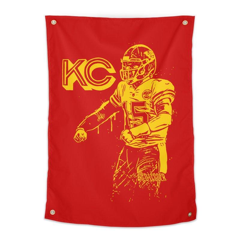 MVP (Yellow) Home Tapestry by redleggerstudio's Shop