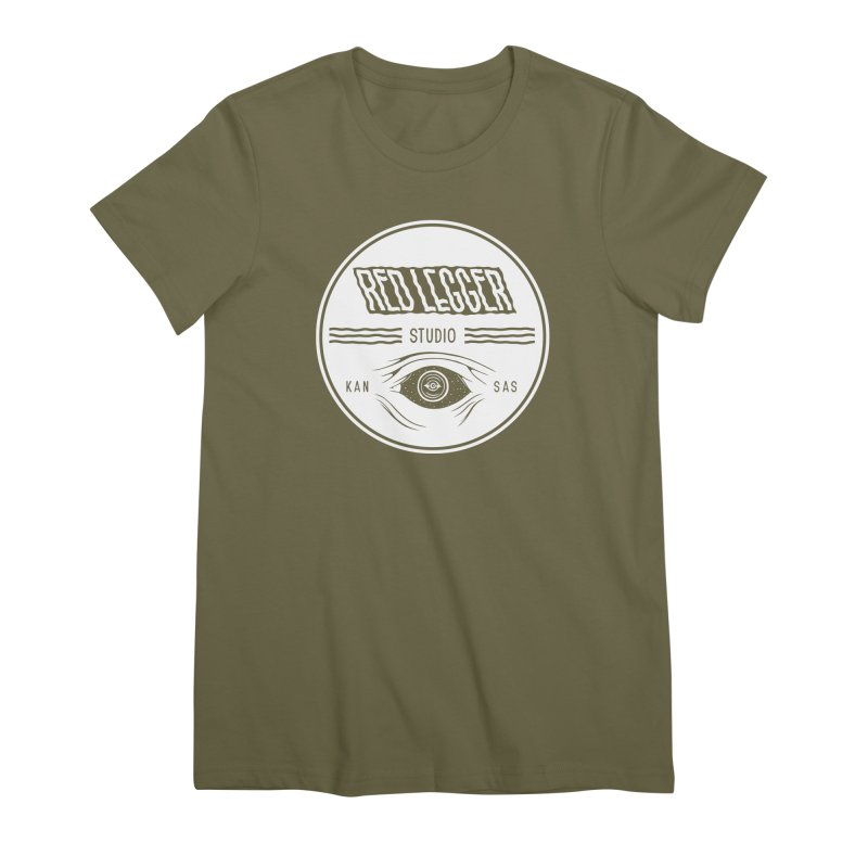 Red Legger KansEye Women's Premium T-Shirt by redleggerstudio's Shop