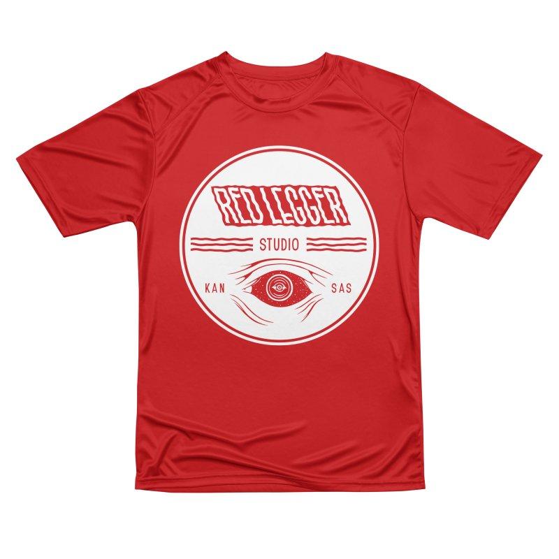 Red Legger KansEye Women's Performance Unisex T-Shirt by redleggerstudio's Shop