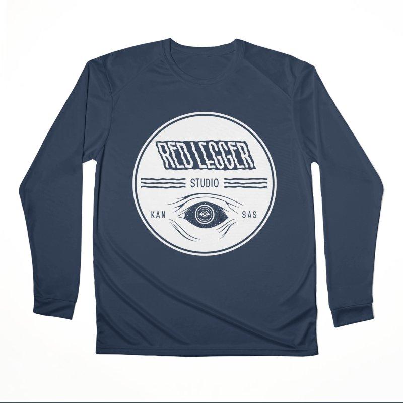 Red Legger KansEye Men's Performance Longsleeve T-Shirt by redleggerstudio's Shop