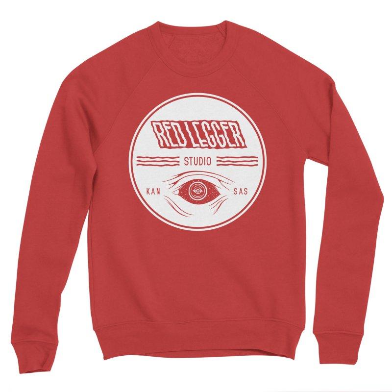 Red Legger KansEye Women's Sponge Fleece Sweatshirt by redleggerstudio's Shop
