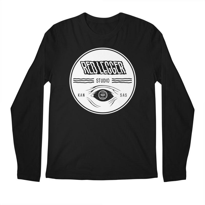 Red Legger KansEye Men's Regular Longsleeve T-Shirt by redleggerstudio's Shop