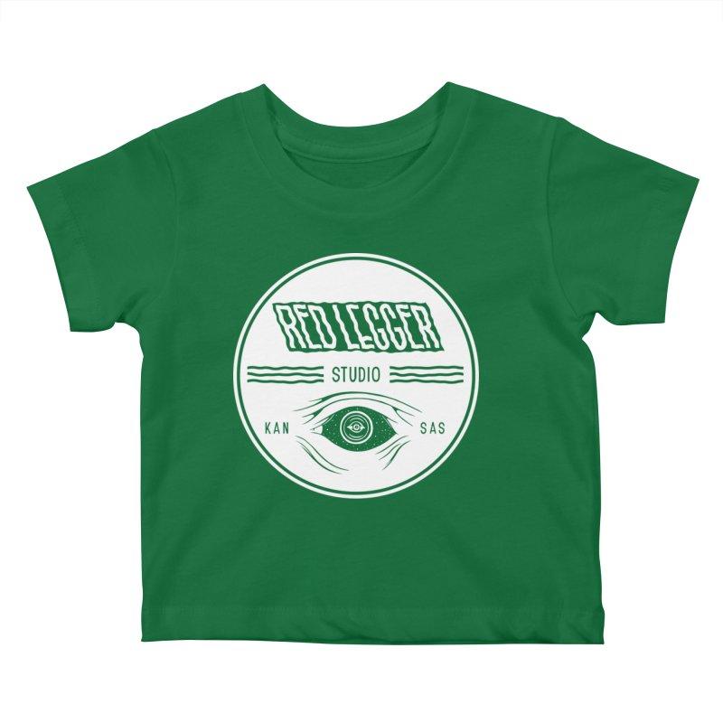 Red Legger KansEye Kids Baby T-Shirt by redleggerstudio's Shop