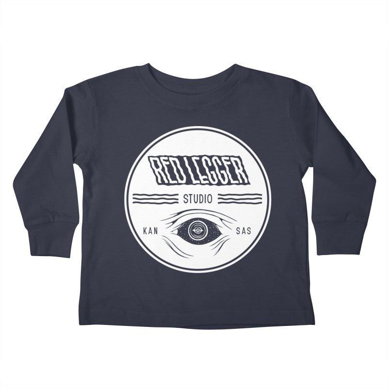 Red Legger KansEye Kids Toddler Longsleeve T-Shirt by redleggerstudio's Shop