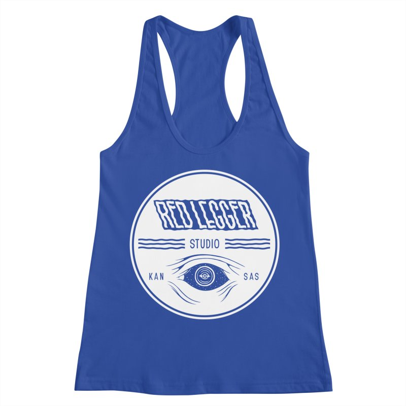 Red Legger KansEye Women's Racerback Tank by redleggerstudio's Shop