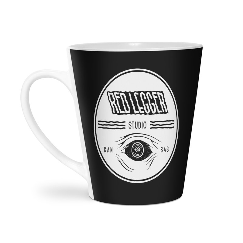 Red Legger KansEye Accessories Latte Mug by redleggerstudio's Shop