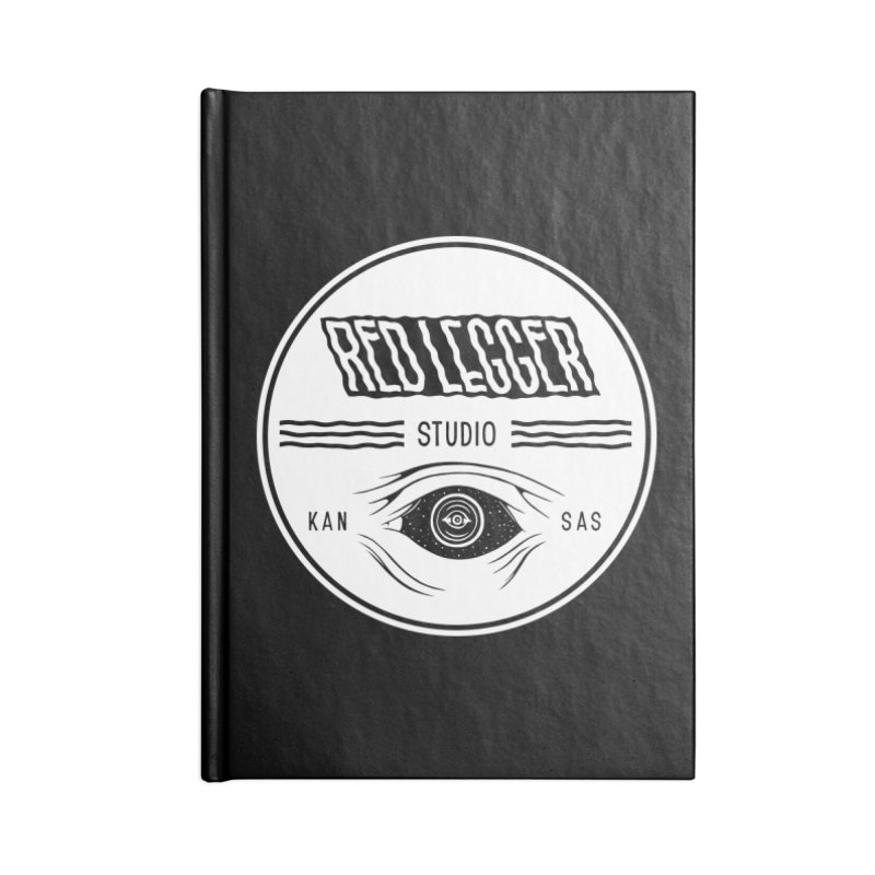 Red Legger KansEye Accessories Lined Journal Notebook by redleggerstudio's Shop