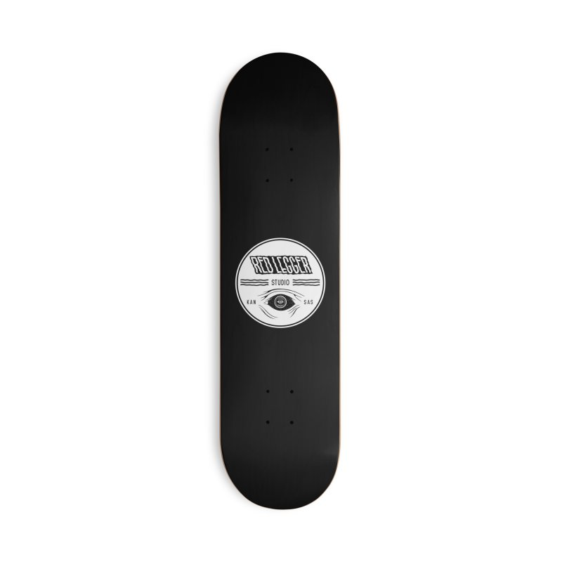 Red Legger KansEye Accessories Deck Only Skateboard by redleggerstudio's Shop