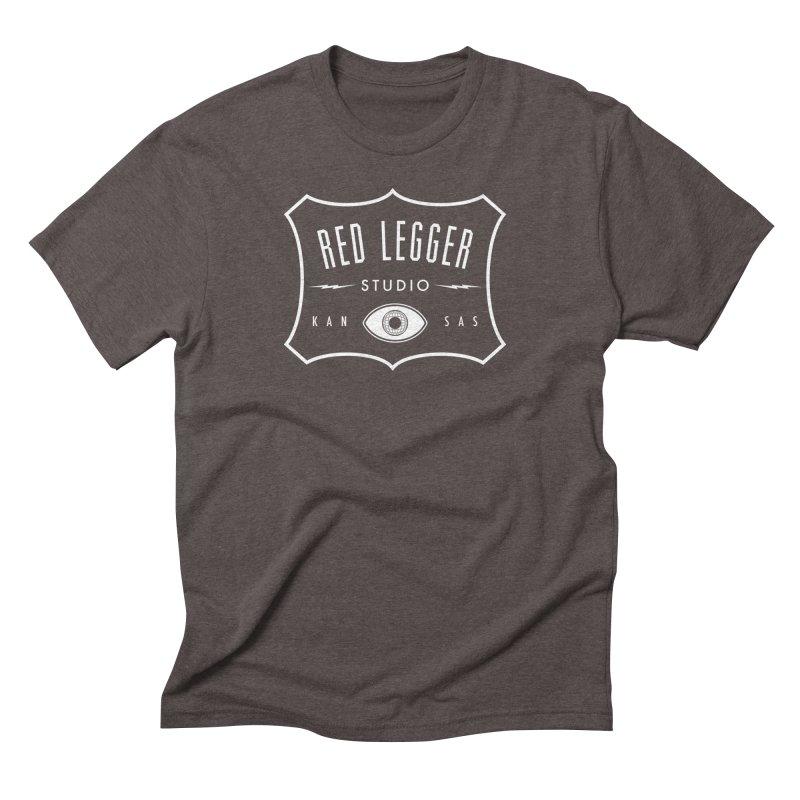 Red Legger Badge Men's Triblend T-Shirt by redleggerstudio's Shop