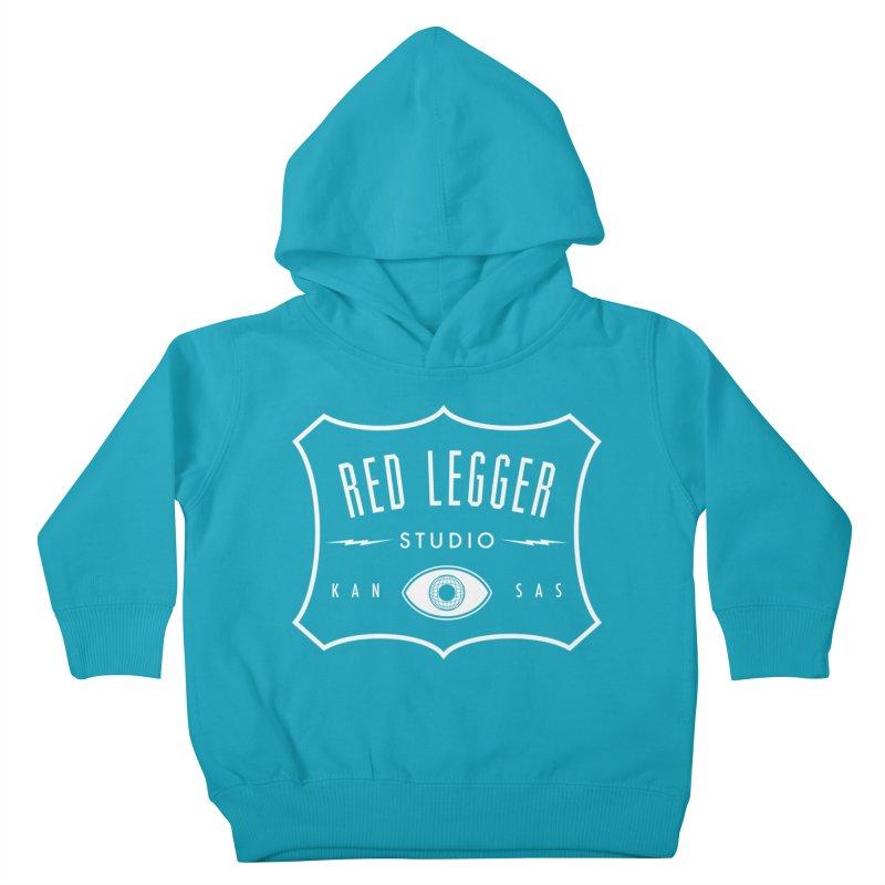 Red Legger Badge Kids Toddler Pullover Hoody by redleggerstudio's Shop