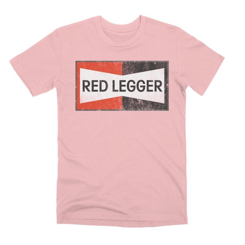 Red Legger Champion Men's Premium T-Shirt by redleggerstudio's Shop