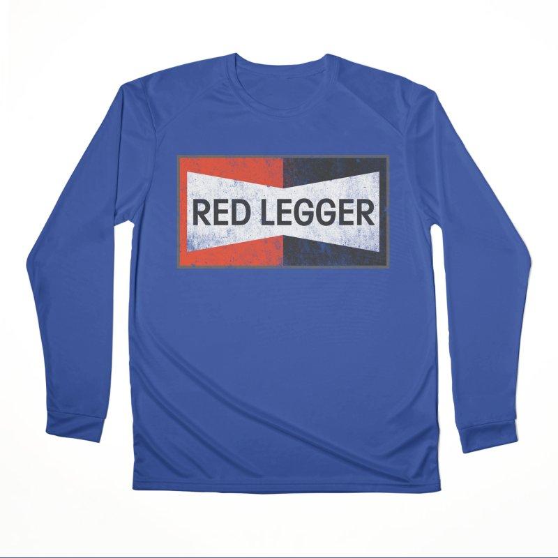 Red Legger Champion Men's Performance Longsleeve T-Shirt by redleggerstudio's Shop