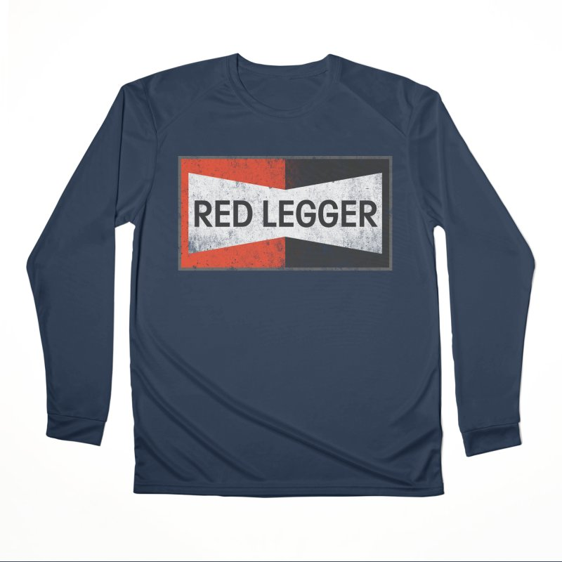 Red Legger Champion Women's Performance Unisex Longsleeve T-Shirt by redleggerstudio's Shop