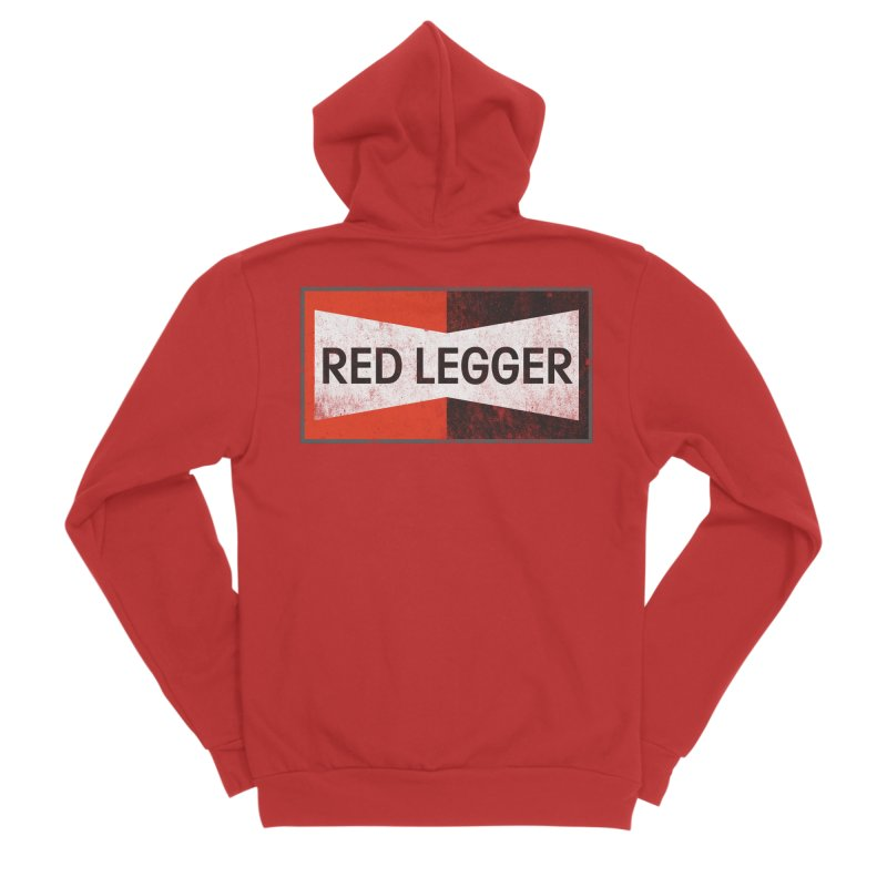 Red Legger Champion Women's Zip-Up Hoody by redleggerstudio's Shop
