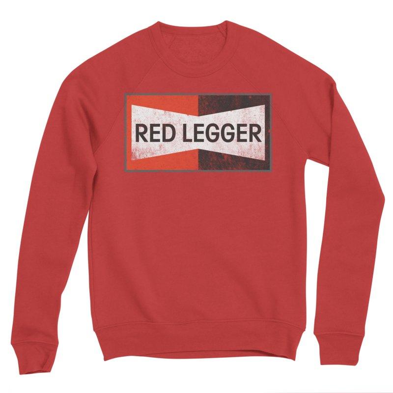 Red Legger Champion Men's Sponge Fleece Sweatshirt by redleggerstudio's Shop