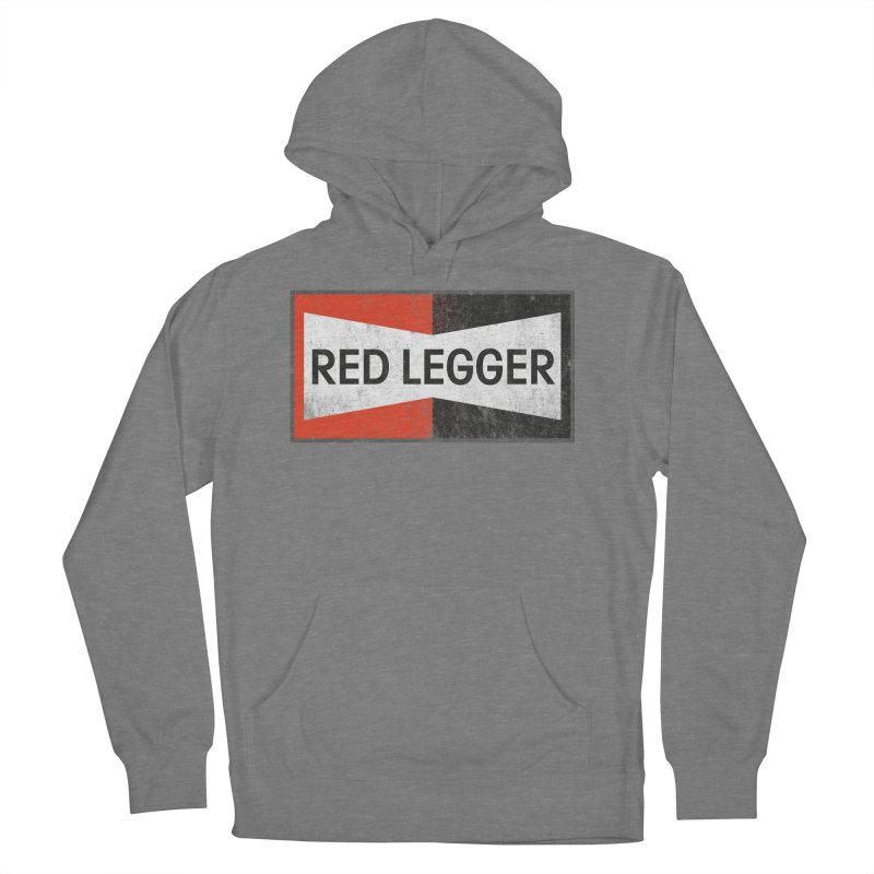Red Legger Champion Women's Pullover Hoody by redleggerstudio's Shop