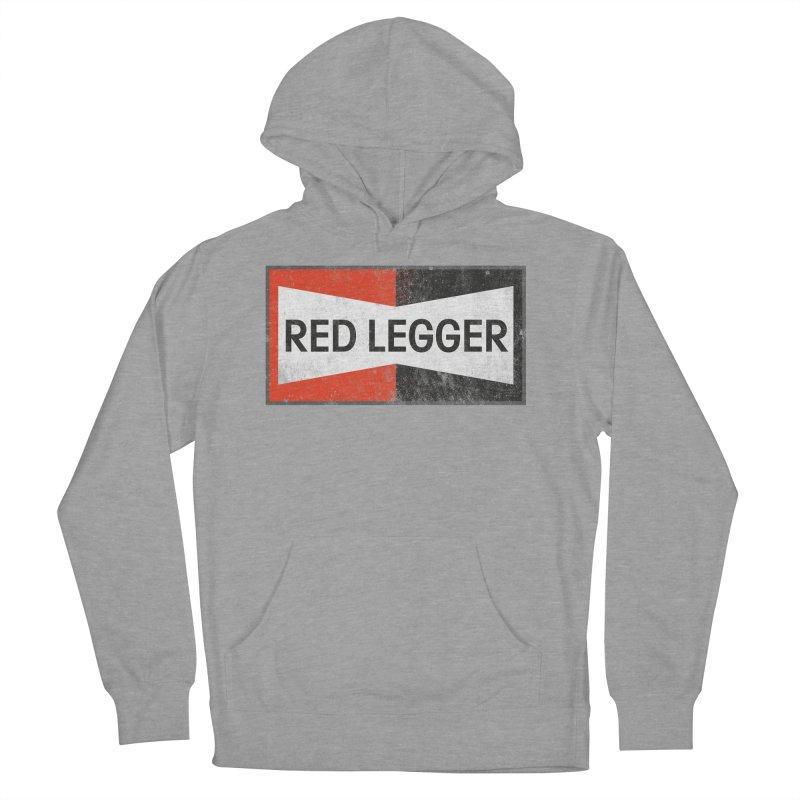 Red Legger Champion Men's French Terry Pullover Hoody by redleggerstudio's Shop