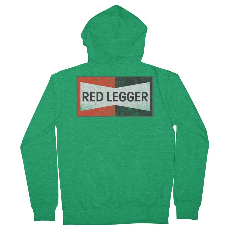 Red Legger Champion Women's Zip-Up Hoody by redleggerstudio's Shop