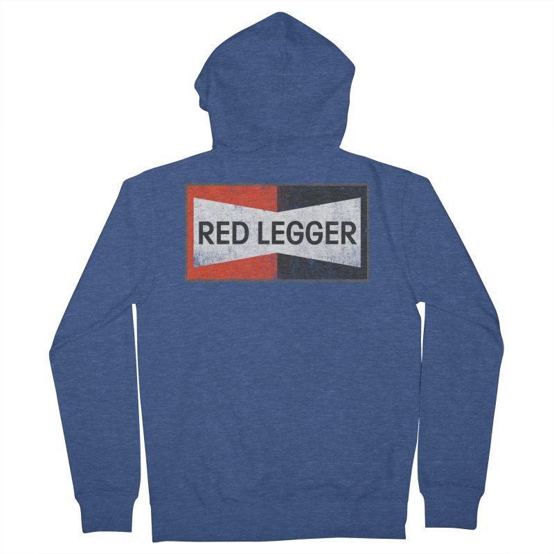 Red Legger Champion Women's French Terry Zip-Up Hoody by redleggerstudio's Shop