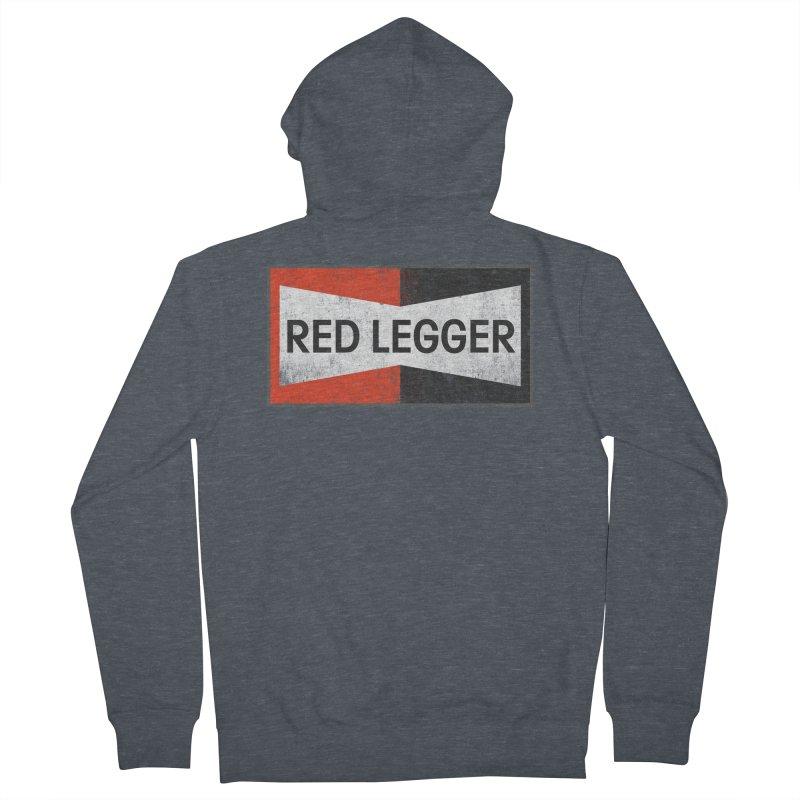 Red Legger Champion Men's French Terry Zip-Up Hoody by redleggerstudio's Shop