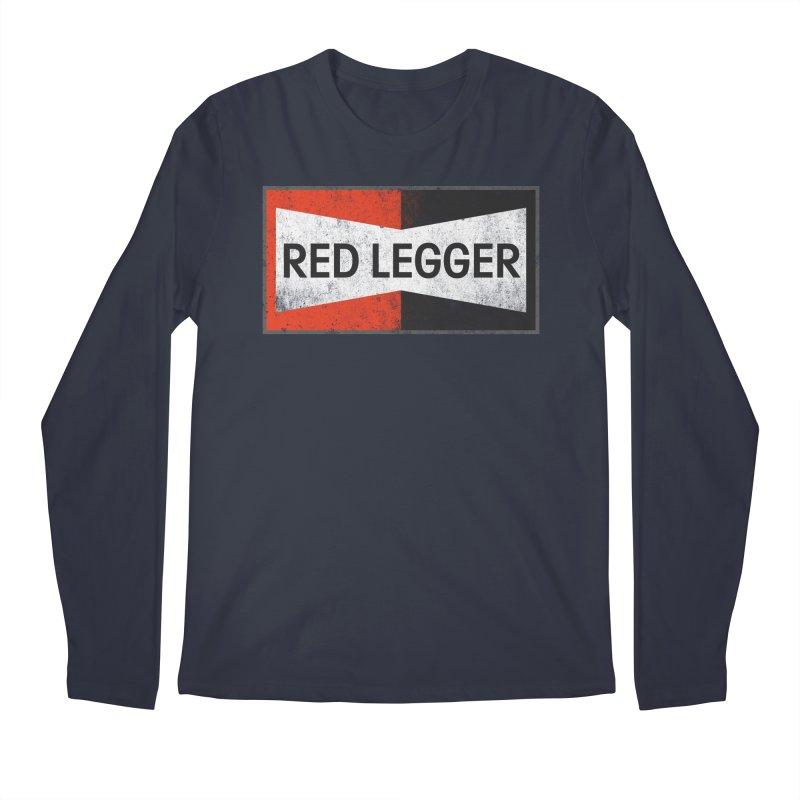 Red Legger Champion Men's Regular Longsleeve T-Shirt by redleggerstudio's Shop