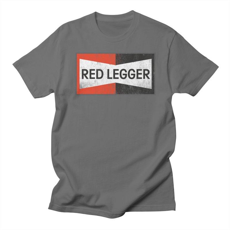 Red Legger Champion Men's T-Shirt by redleggerstudio's Shop