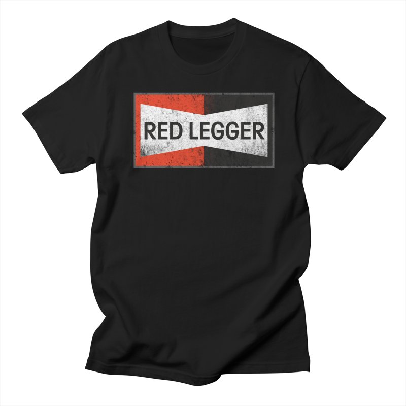 Red Legger Champion Men's Regular T-Shirt by redleggerstudio's Shop