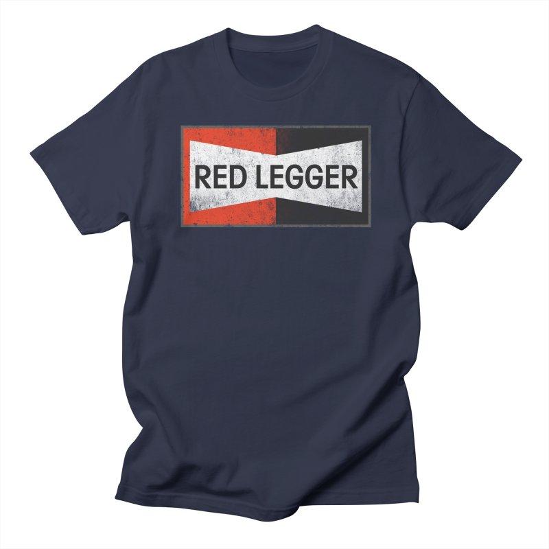Red Legger Champion Men's Regular T-Shirt by redleggerstudio's Shop