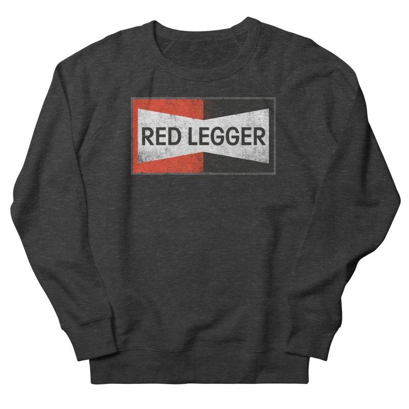 Red Legger Champion Men's French Terry Sweatshirt by redleggerstudio's Shop