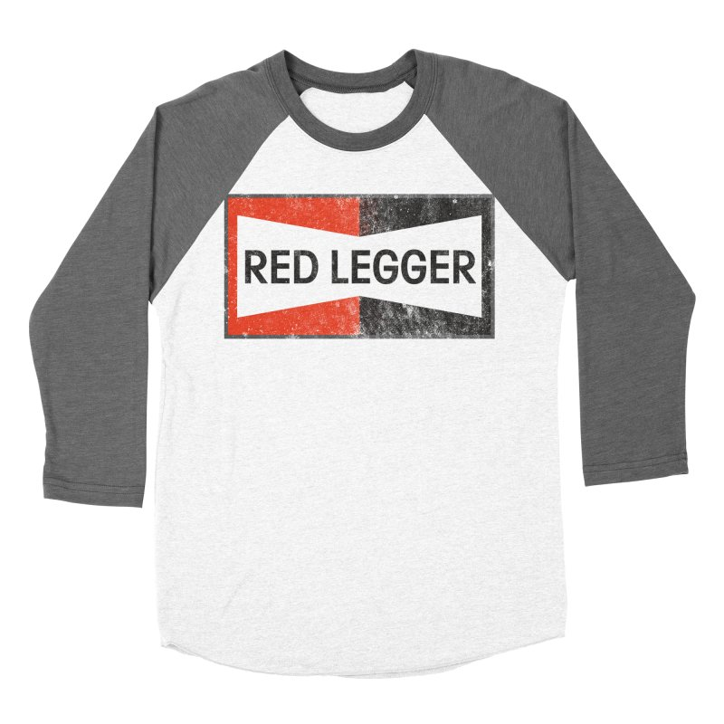 Red Legger Champion Men's Baseball Triblend Longsleeve T-Shirt by redleggerstudio's Shop