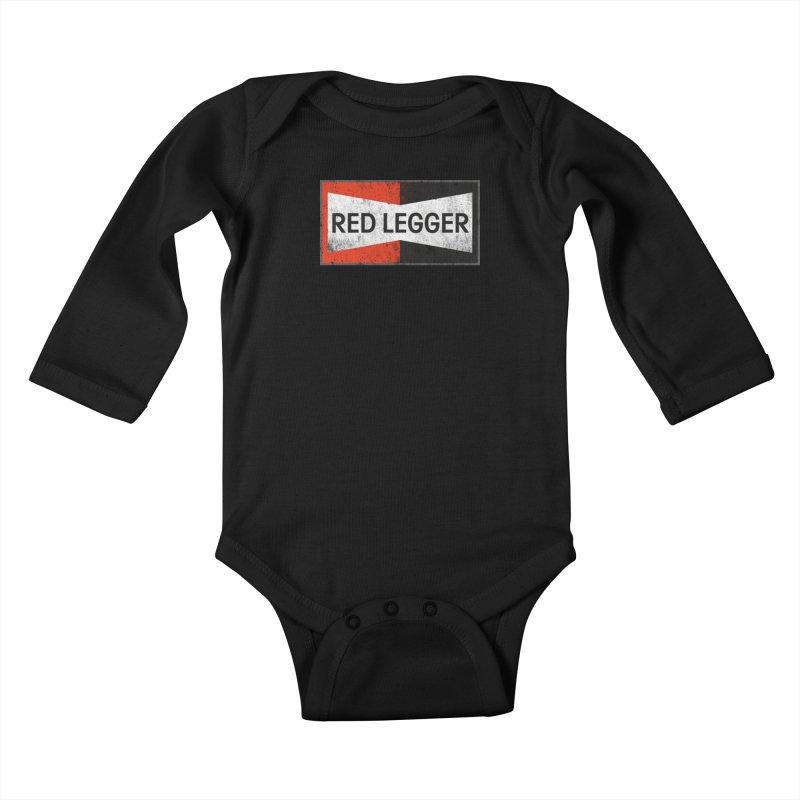 Red Legger Champion Kids Baby Longsleeve Bodysuit by redleggerstudio's Shop
