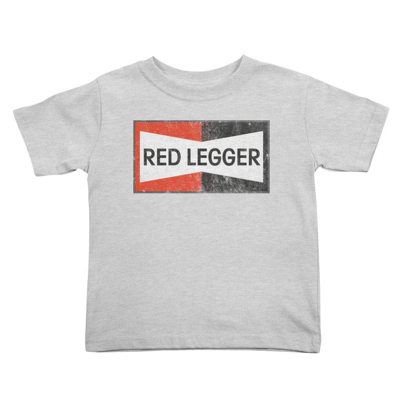 Red Legger Champion Kids Toddler T-Shirt by redleggerstudio's Shop