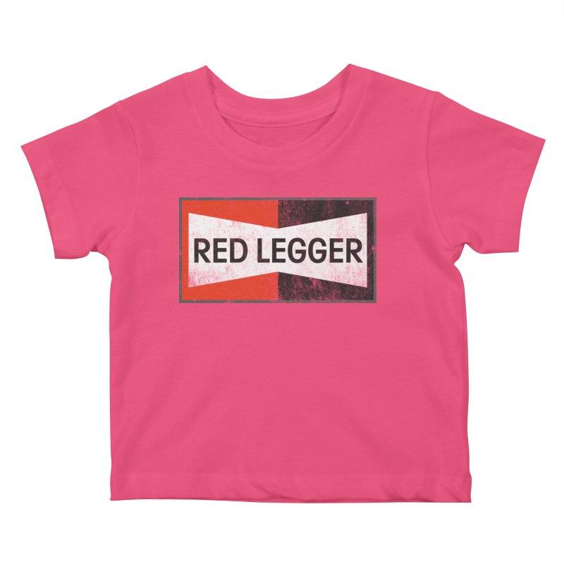 Red Legger Champion Kids Baby T-Shirt by redleggerstudio's Shop
