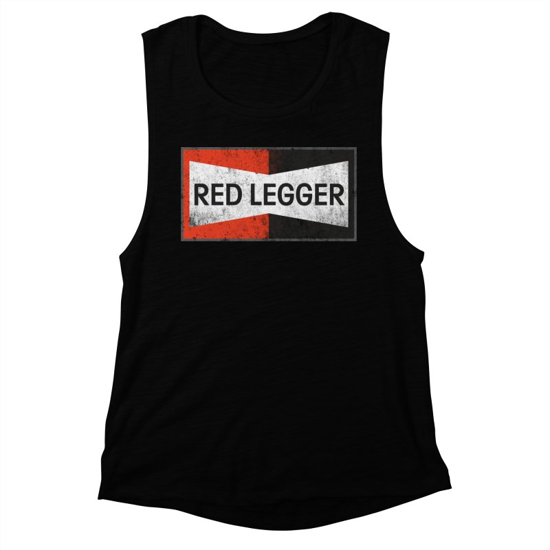 Red Legger Champion Women's Muscle Tank by redleggerstudio's Shop
