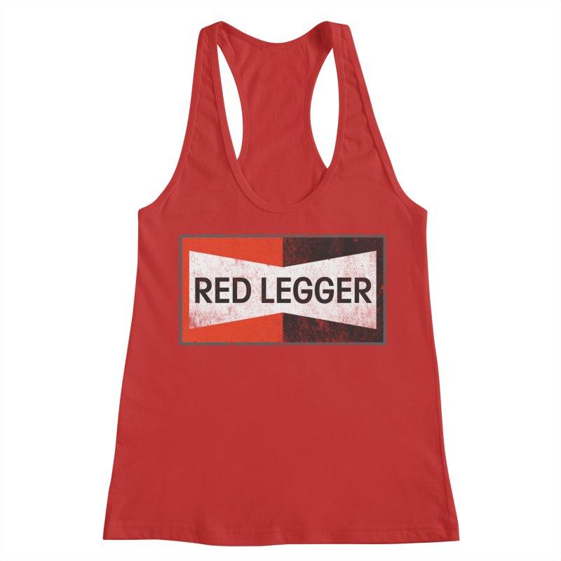 Red Legger Champion Women's Racerback Tank by redleggerstudio's Shop