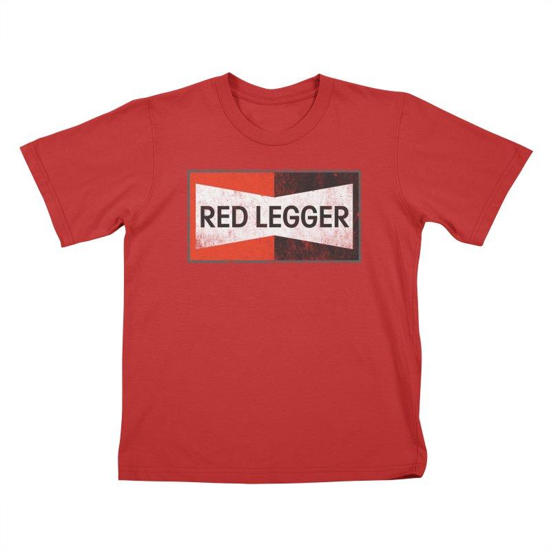 Red Legger Champion Kids T-Shirt by redleggerstudio's Shop